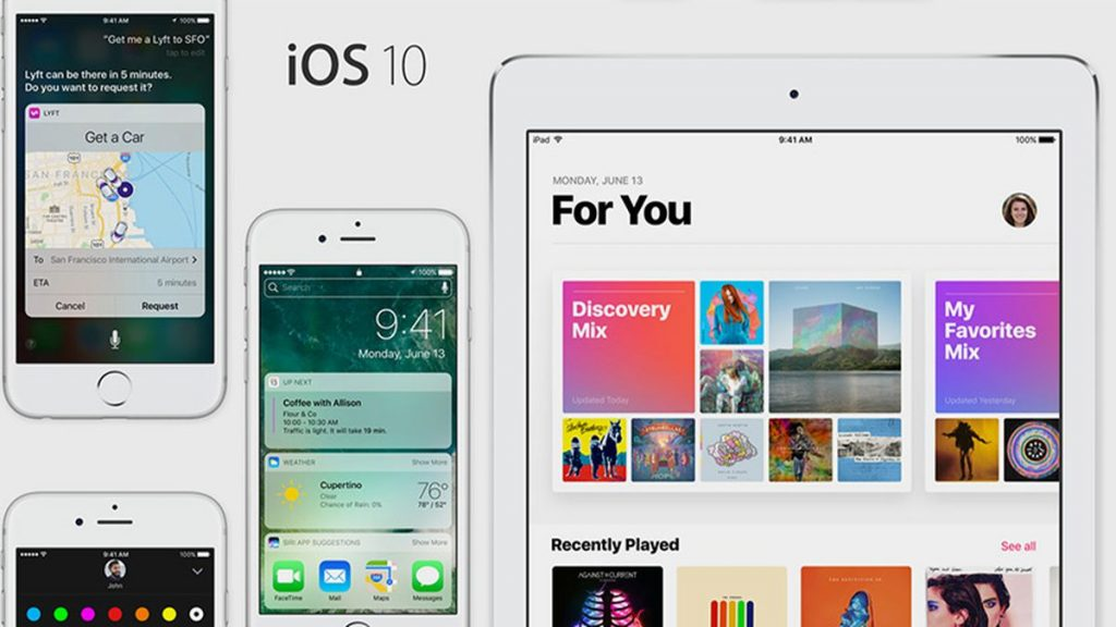iOS 10 Coming soon