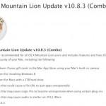 OS X 10.8.3 Update